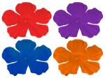 Hawaii slingers blauw lila rood oranje