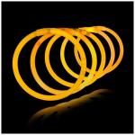 Glow in the dark armbandjes oranje